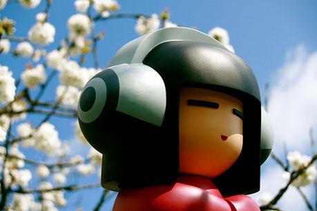 Lego Man listening to BestTranceMusic.com